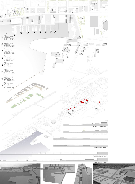 Impianto sportivo e riconfigurazione del porto di Trapani